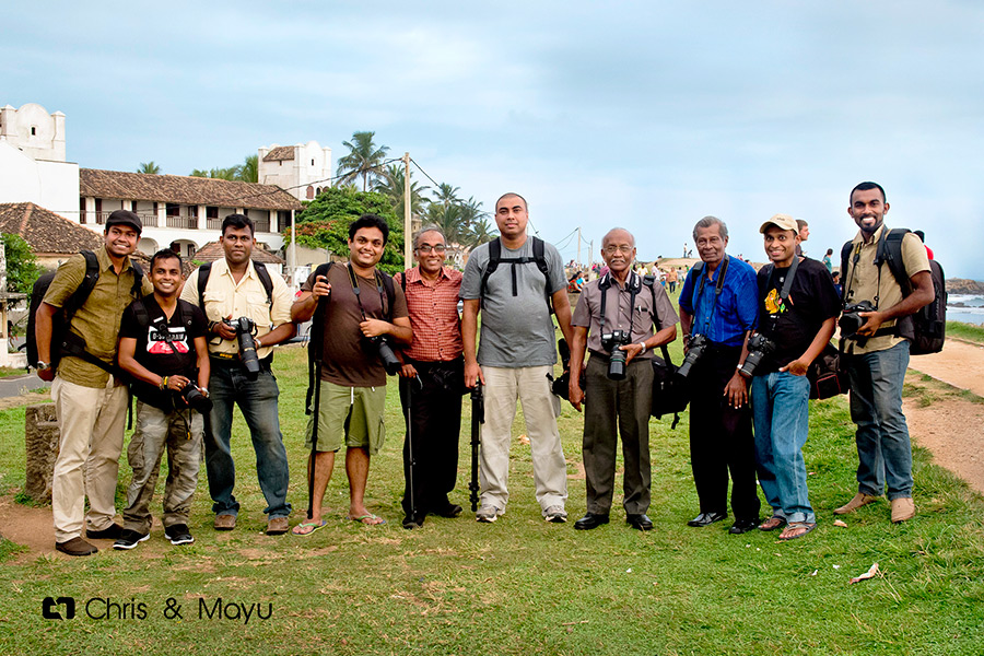 Round Table Camera Club Members - Galle Fort